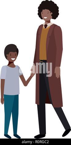 Père et fils caractère avatar
