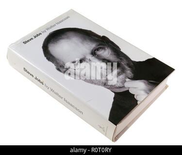 Biographie de Steve Jobs par Walter Isaacson Banque D'Images