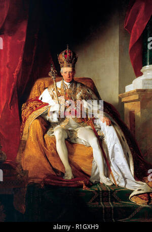 François II, Saint Empereur Romain par Friedrich von Amerling, vers 1832 Banque D'Images