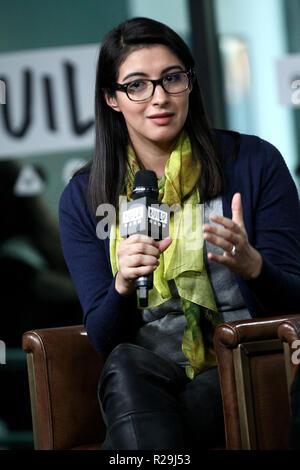 NEW YORK, NY - 14 novembre: création présente Christina Diaz discussion alimentée par l'échec Sommet avec SmartGirls à construire Studio le 14 novembre 2017 à New York. (Photo par Steve Mack/S.D. Mack Photos) Banque D'Images