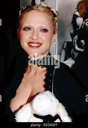 New York City, USA. 16 Nov, 2018. Madonna 1992 Photo de John Barrett/PHOTOlink via Photo Credit: Newscom/Alamy Live News