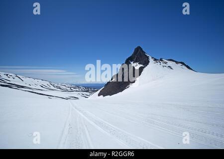 La péninsule du Kamchatka, Russie Banque D'Images