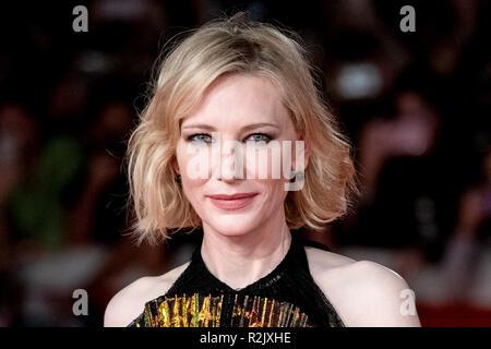 13e Festival du Film de Rome - La chambre avec un réveil dans ses murs - Premiere avec: Cate Blanchett Où: Rome, Latium, Italie Quand: 19 Oct 2018 Source: WENN.com Banque D'Images