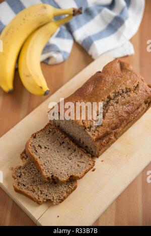 Pain aux bananes Banque D'Images