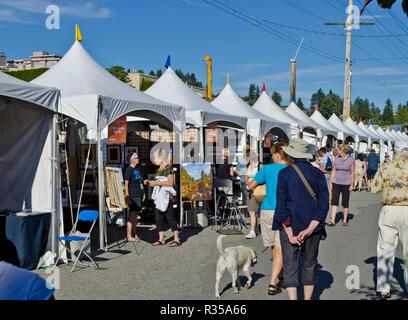 Harmonie Arts Festival à West Vancouver, Colombie-Britannique, Canada. Banque D'Images