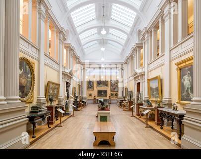 Intérieur du levier Dame Art Gallery, Port Sunlight, Liverpool, Merseyside, England, UK Banque D'Images