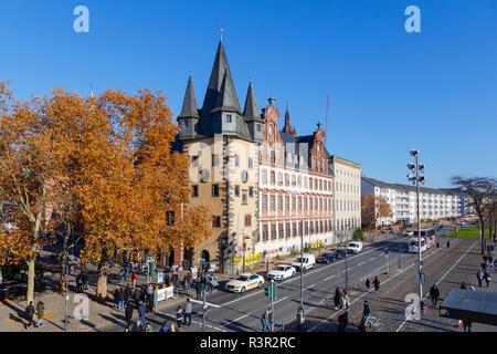 Musée historique (allemand: Historisches Museum) à Francfort en Allemagne. 18 novembre 2018. Banque D'Images