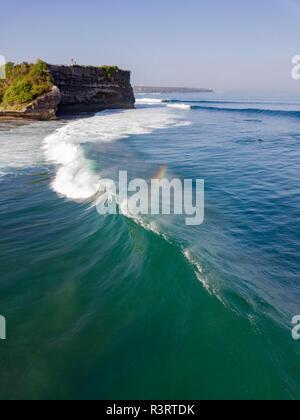 L'INDONÉSIE, Bali, vue aérienne d'Balngan beach