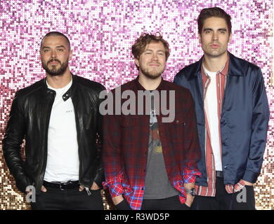 Bohemian Rhapsody UK Premiere au SSE Arena Wembley, Londres : Busted d' où : London, Royaume-Uni Quand : 23 Oct 2018 Source : WENN.com Banque D'Images
