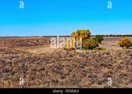 USA, Colorado, Eads, vue de Sand Creek Massacre d'oublier Banque D'Images