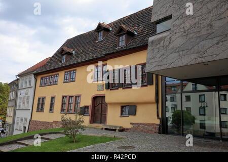 Maison de Bach à Eisenach Banque D'Images