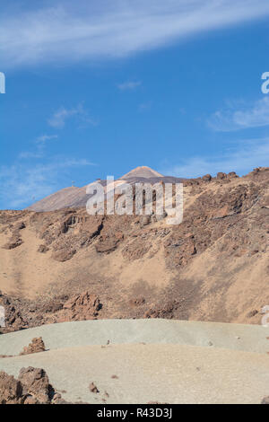 Le teide sur Tenerife, dans les îles canaries