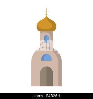 L'icône de télévision de l'Église orthodoxe. Vector illustration. Le christianisme. La Religion