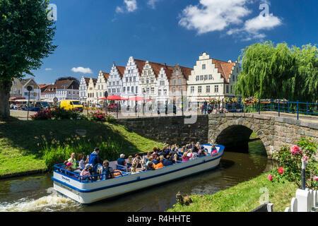 Wartburg, Friedrich's Town, visite de la ville au milieu des douves , Friedrichstadt, Stadtrundfahrt auf dem Mittelburggraben