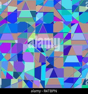 Abstract vector background design pattern géométrique colorée Banque D'Images