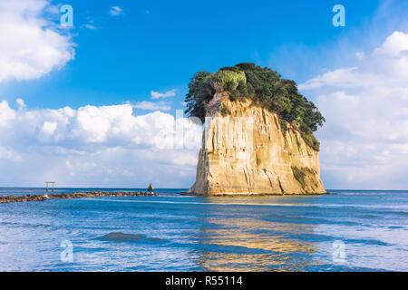 Suzu, le Japon à Mitsukejima Island. Banque D'Images