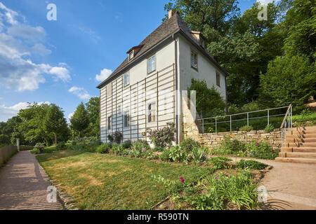 Goethe garden house dans le parc sur l'ILM, Weimar, Thuringe