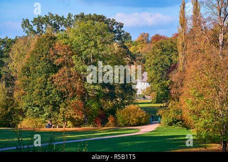 Goethe garden house dans le parc à l'ILM, Weimar, Thuringe, Allemagne
