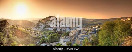 Espagne, Andalousie, province de Grenade, Montefrio Village