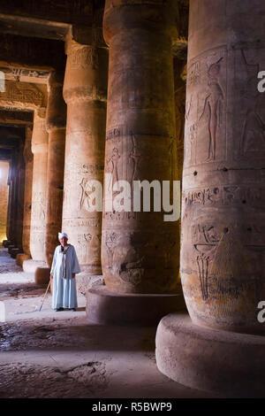 L'Egypte, Abydos, Temple de Seti I Banque D'Images