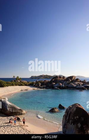 Caraïbes, îles Vierges britanniques, Virgin Gorda, Les Bains Banque D'Images