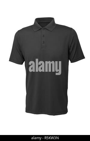 Gris Golf tee shirt pour homme ou femme Banque D'Images