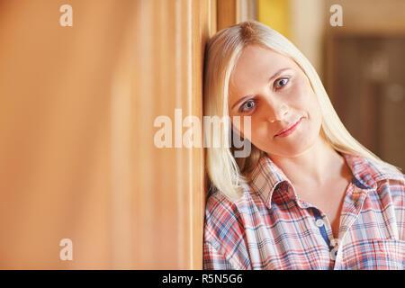 Elle&#39 s la plus douce Banque D'Images