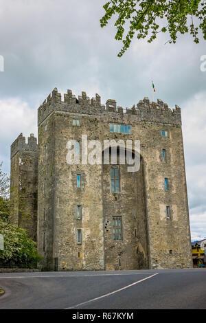 Le Bunratty castle en Irlande Banque D'Images