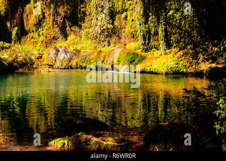 Cascades Kursunlu Turquie Banque D'Images