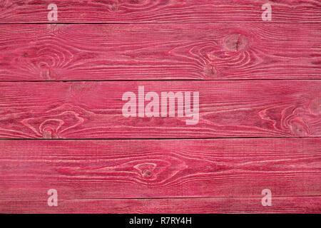 Fond de bois de rose. Vieux panneaux peints. Libre Banque D'Images