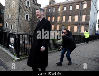 Jacob Rees-Mogg MP, Westminster, London Crédit: Finnbarr Webster/Alamy Live News Banque D'Images