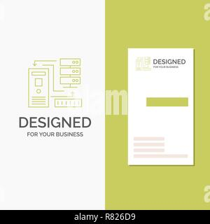 Vecteur De Fond Creatif Logo Dentreprise Pour Lassociation Des Donnees Base
