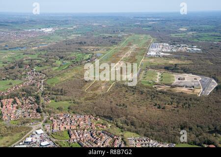 Ancienne base aérienne Greenham Common, Newbury, Berkshire, l'Ouest en 2018. Créateur: Angleterre historique photographe personnel. Banque D'Images
