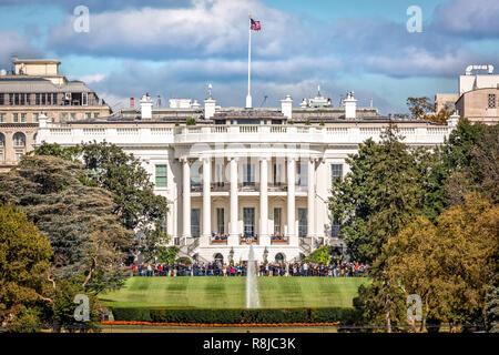 La Maison Blanche à Washington DC