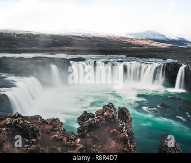 Islande - Godafoss longue exposition