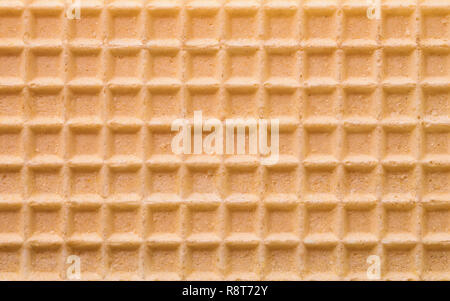 Close up of yellow gaufre texture background Banque D'Images