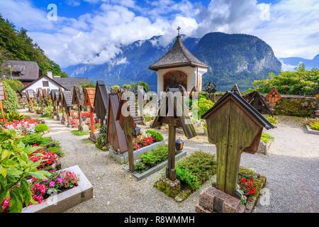 Hallstatt, Autriche Banque D'Images