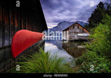 Altaussee Voile Remise, Autriche Banque D'Images