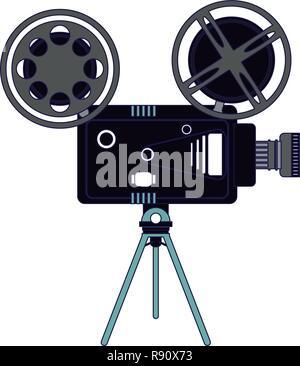 Cinema movie camera vintage Banque D'Images