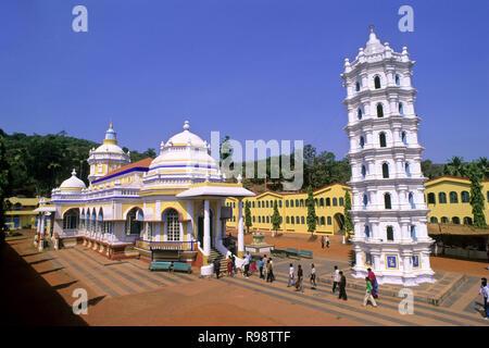 Shri Mangesh Temple, Ponda, Goa, Maharashtra, Inde