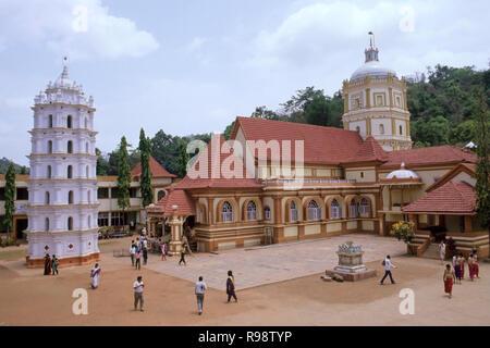 Temple shantadurga, Goa, Inde