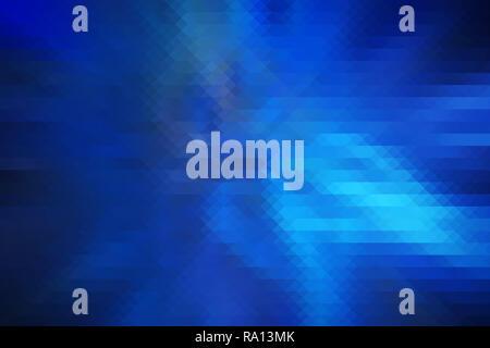Haute résolution couleur turquoise et bleu foncé en forme de losange et triangle arrière-plan. Abstrait coloré et géométrique triangle losange abstract background Banque D'Images