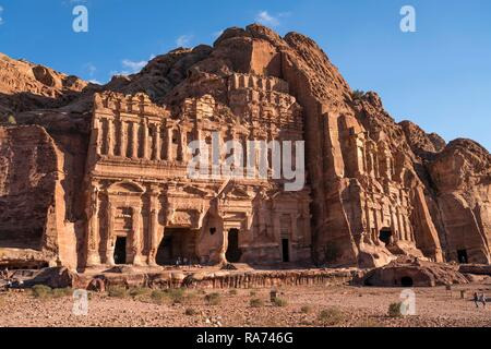 Tombeau du palais, tombes du Roi, Petra, Jordanie