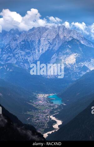 Auronzo di Cadore de dessus, Dolomites de Sesto (Sexten), province de Belluno, Vénétie, Italie, Europe Banque D'Images