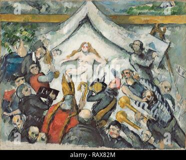 L'éternel féminin (L'Éternel féminin), Paul Cézanne, Français, 1839 - 1906, France, Europe, environ 1877, huile sur repensé Banque D'Images
