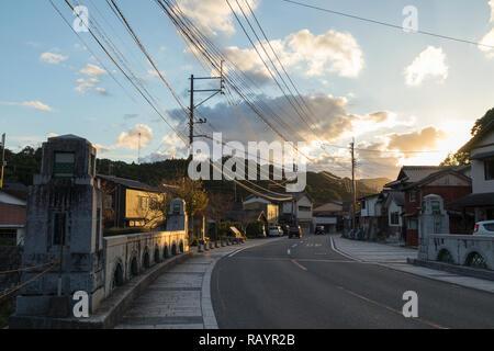 Arita, JAPON - 30 octobre 2018:Old street dans le centre ville d'Arita Arita yaki, célèbre pour, Préfecture de Saga