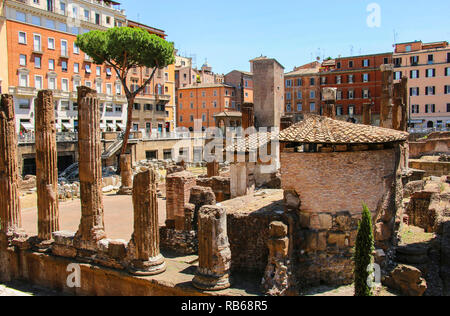 Largo di Torre Argentina à Rome, Italie Banque D'Images