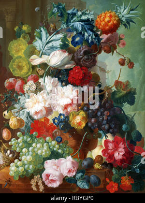 Jan van Os, fruits et fleurs dans un vase en terre cuite, 1777-8.jpg - RBYGP0