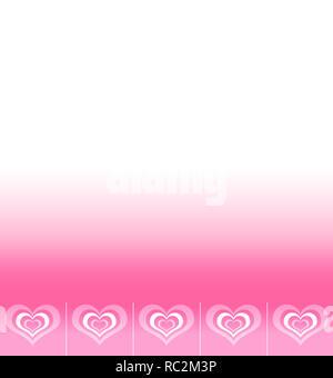 Formulaire avec espace pour texte présentant de l'ensemble de symboles abstraits amour stylisé