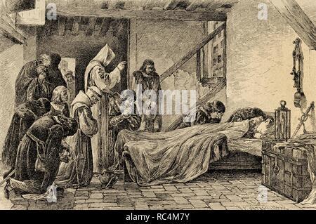 Mort de Christophe Colomb, 1506 Banque D'Images, Photo Stock: 135096133 - Alamy